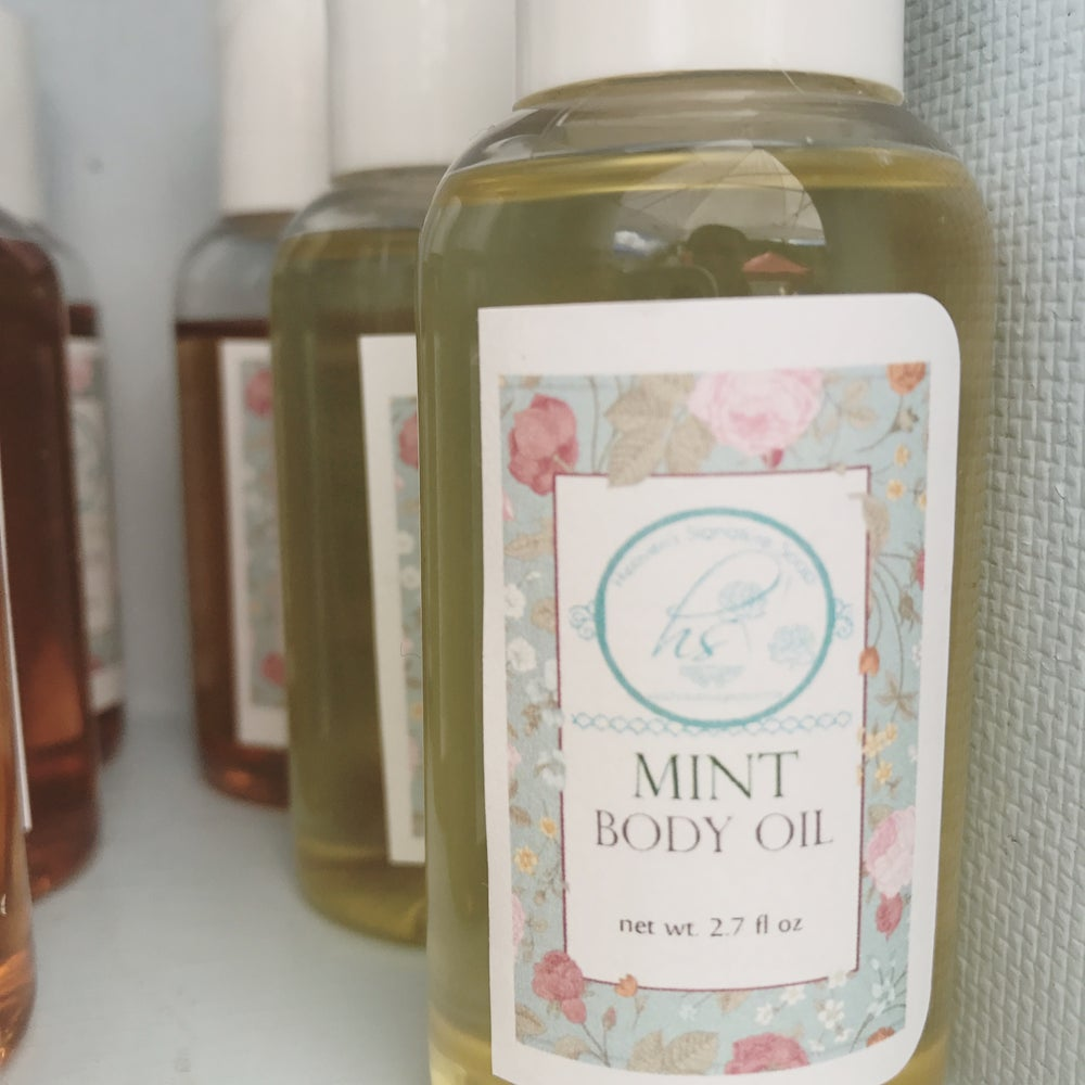 Image of Mint Body Oil