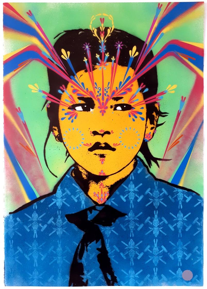 Image of Saigon Girl (Blue) 2017