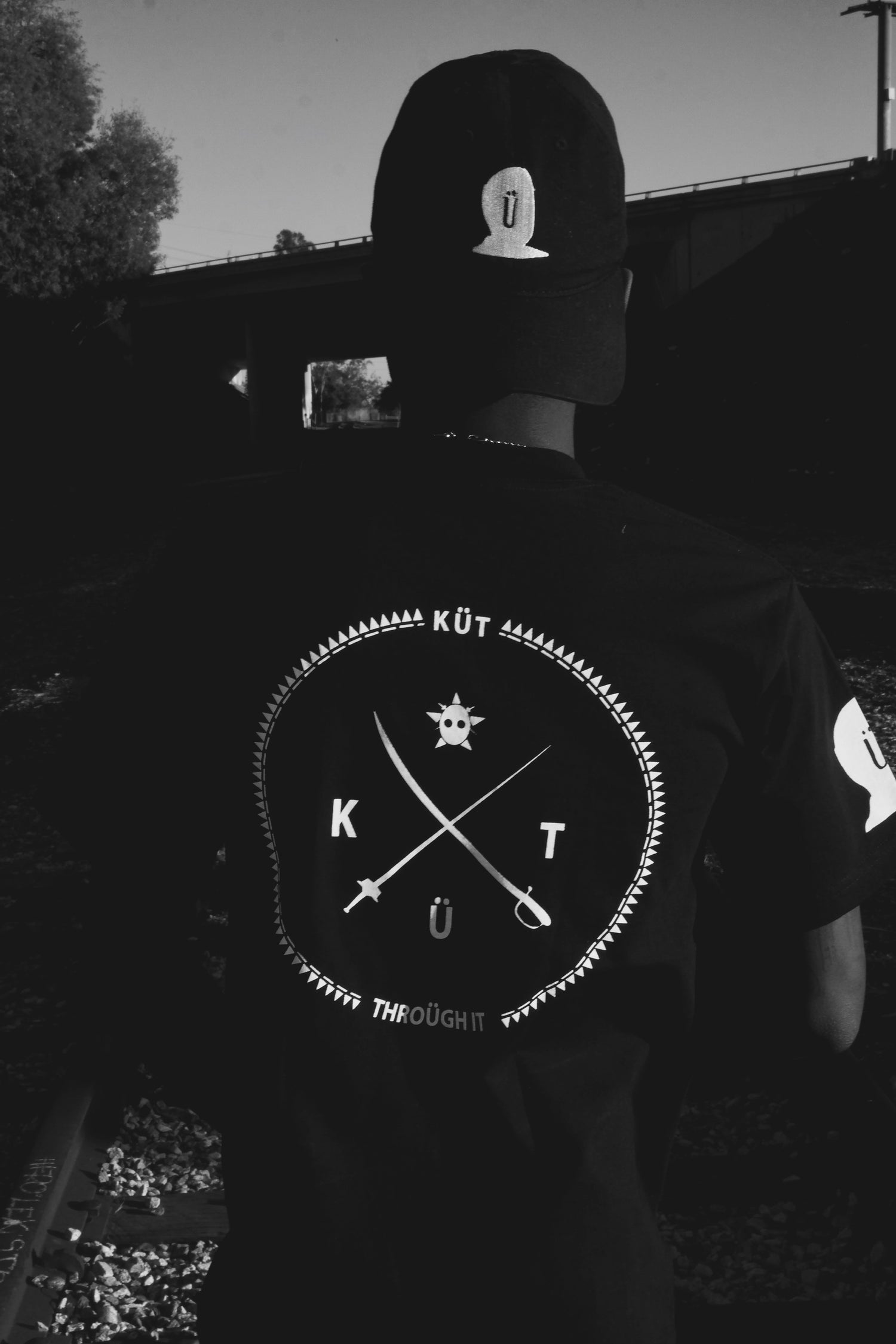 Image of Black KüTz Jason Tee