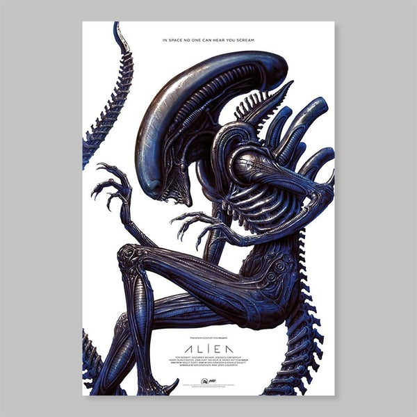 Image of ALIEN SCREEN PRINT