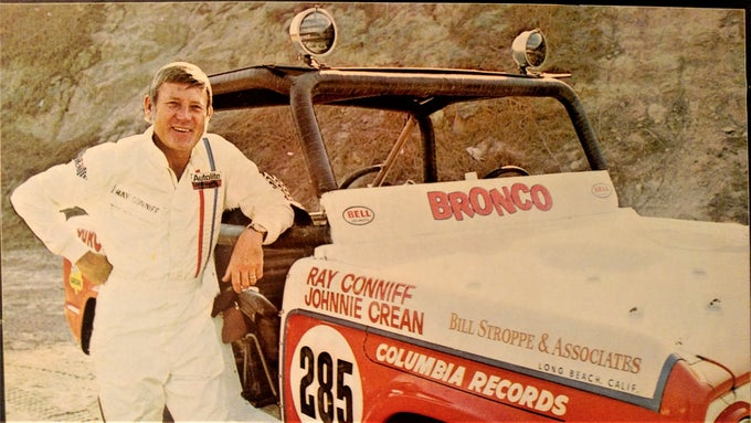 "Image of Vintage ""Shaky Bronco"" Decal"