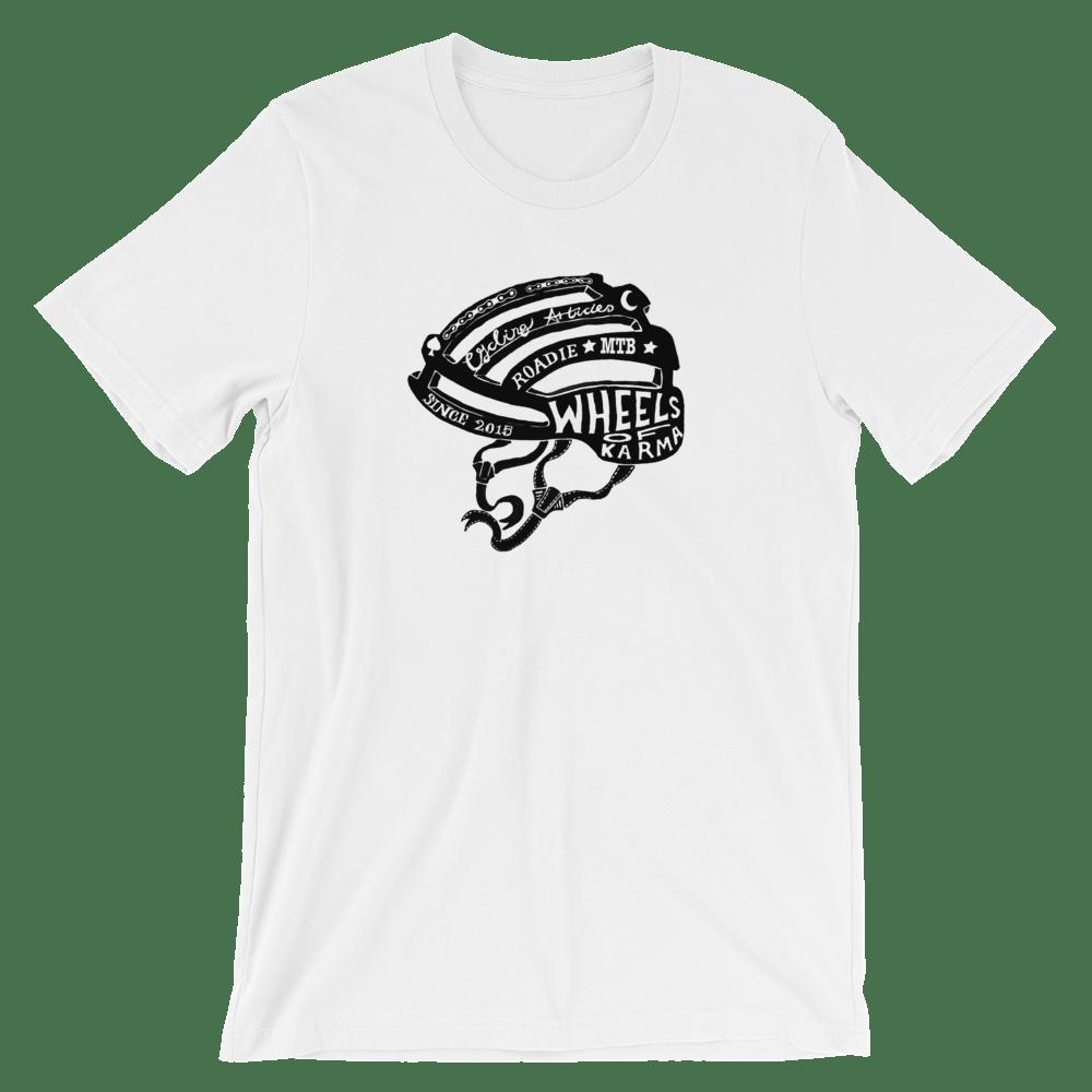 Image of Helmet Logo - Tee shirt - White