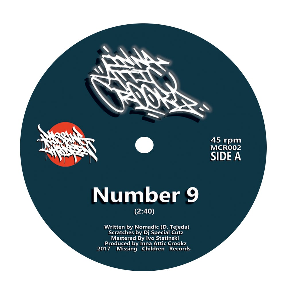 "Image of Inna Attic Crookz - Number 9 (7"" Vinyl)"