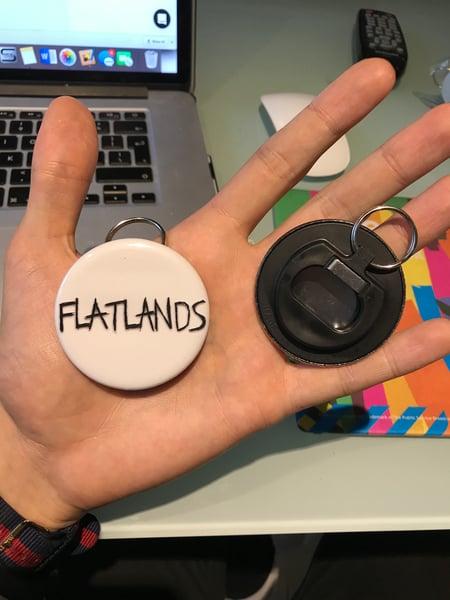 Image of Flatlands Classic Logo Bottle Opener