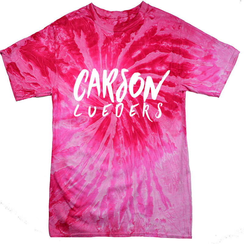 Image of Spiral Pink Tye Dye Shirt