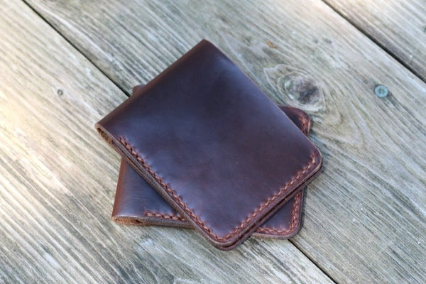 Image of Traditional Bifold Wallet in Horween Chromexcel