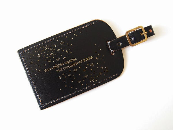Image of The Children of Stars Luggage Tag – Black