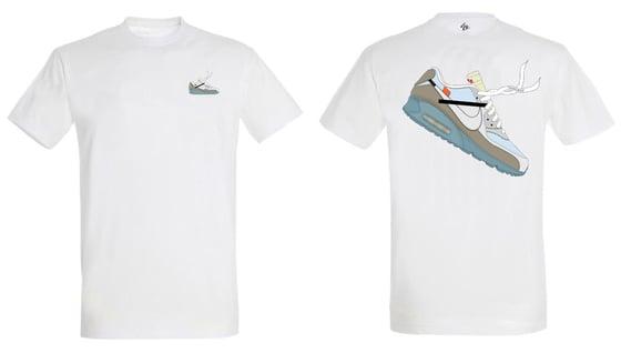 Image of Tee Shirt Air Max 90 x Off White