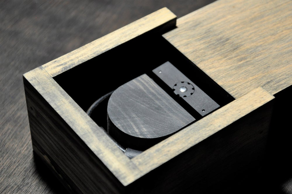Image of Limited Error Wooden Timepiece 002