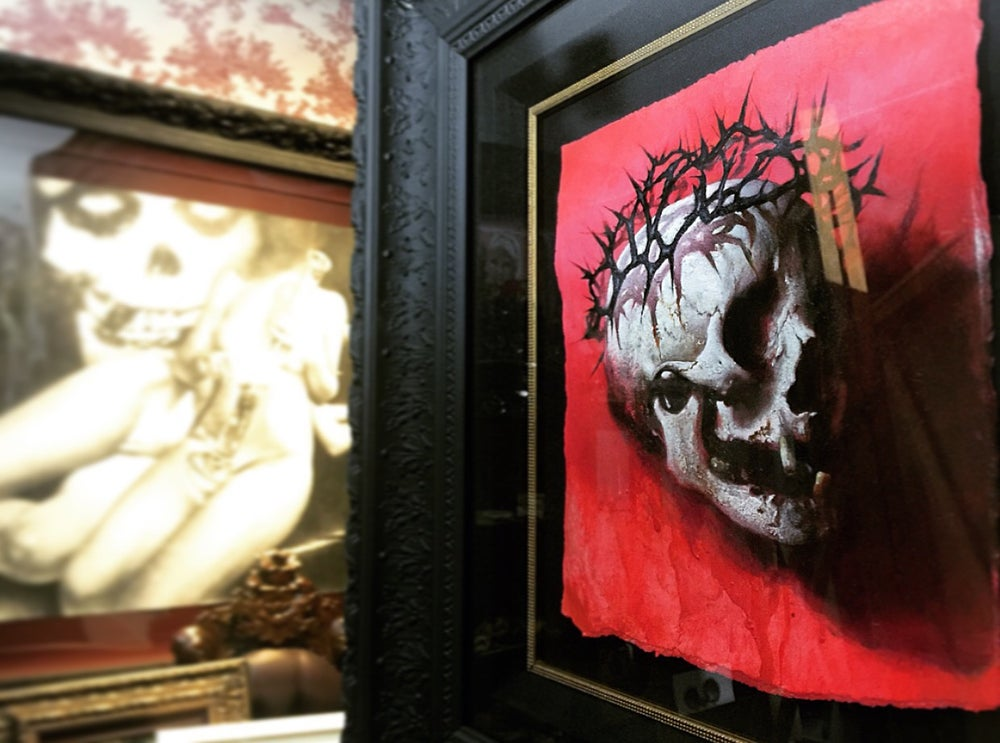 "Image of 'LAMB OF GOD' - 19 x 16.5"" - Deluxe Limited Edition Museum Archival Print"