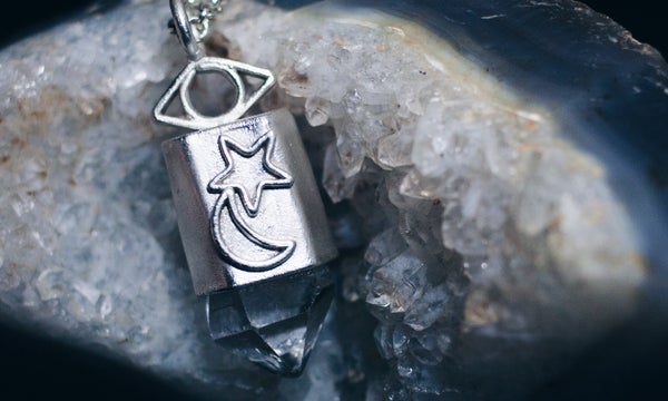 Image of Veritas Quartz Necklace