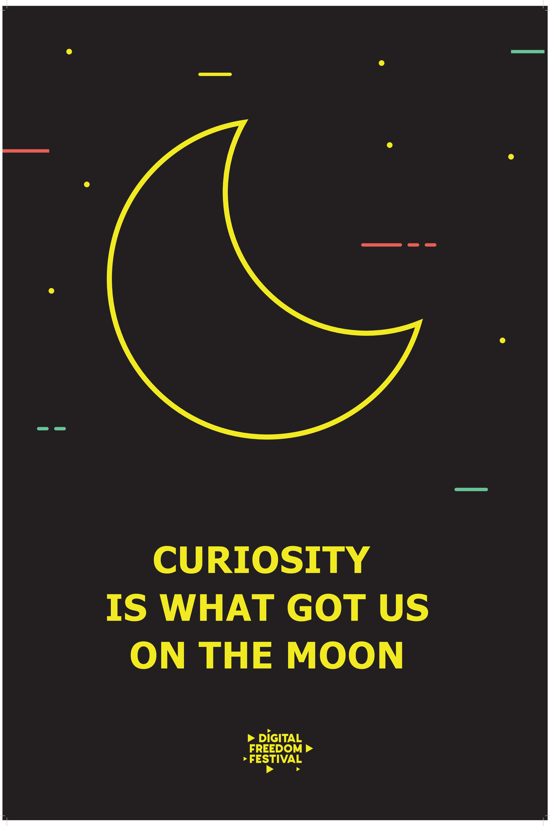 Image of CURIOSITY POSTER