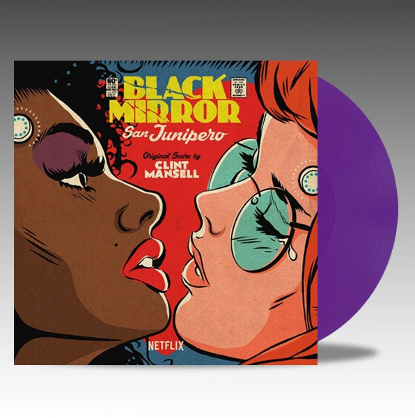 Image of Black Mirror: San Junipero (Original Score) 'Purple Vinyl' - Clint Mansell