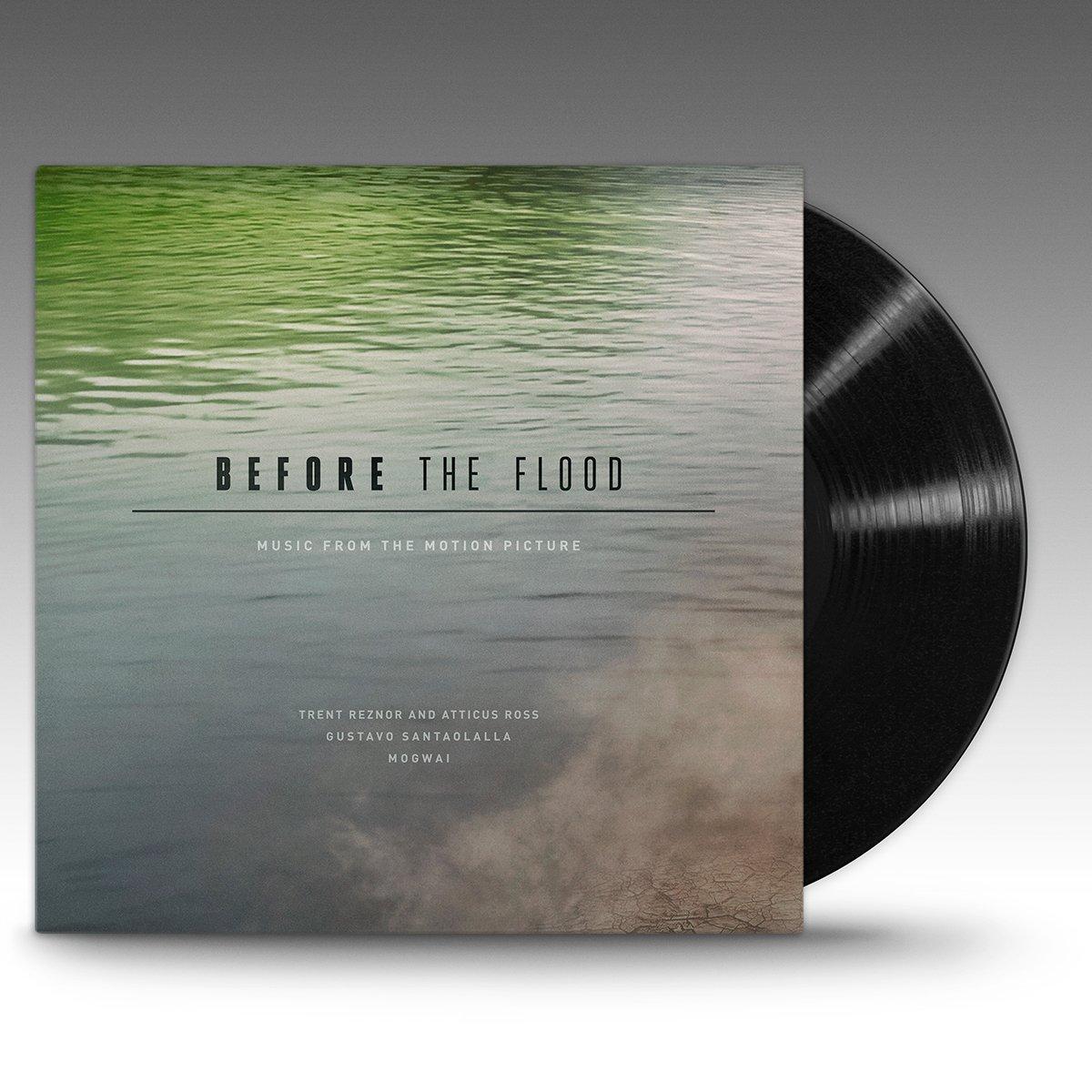 Lakeshore Records Before The Flood Black Vinyl Trent