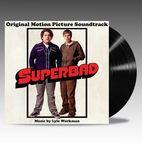 Image of Superbad (Original Motion Picture Soundtrack) 'Black Vinyl' - Lyle Workman // Various
