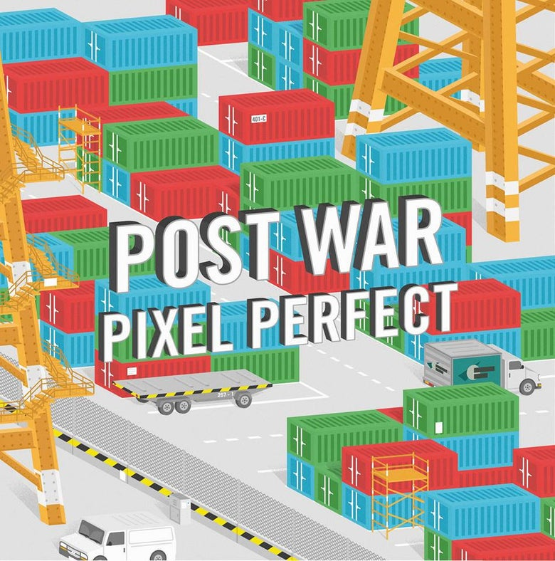 "Image of CD004 - Post War -  ""Pixel Perfect"" 7"""