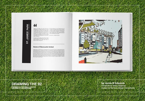 Image of Drawing the 92 Book  Limited Edition,  Book + Slipcase