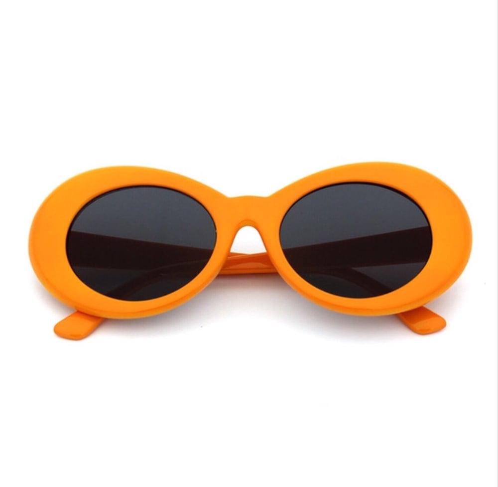 5b417eeb46bd6 Clout Eyewear — Orange Clout Goggles