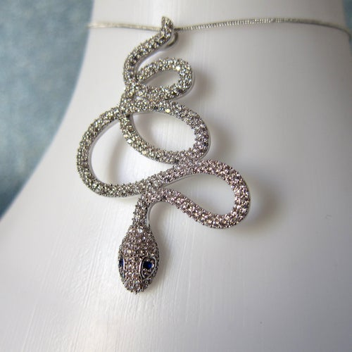 Image of Xanthe Serpent necklace
