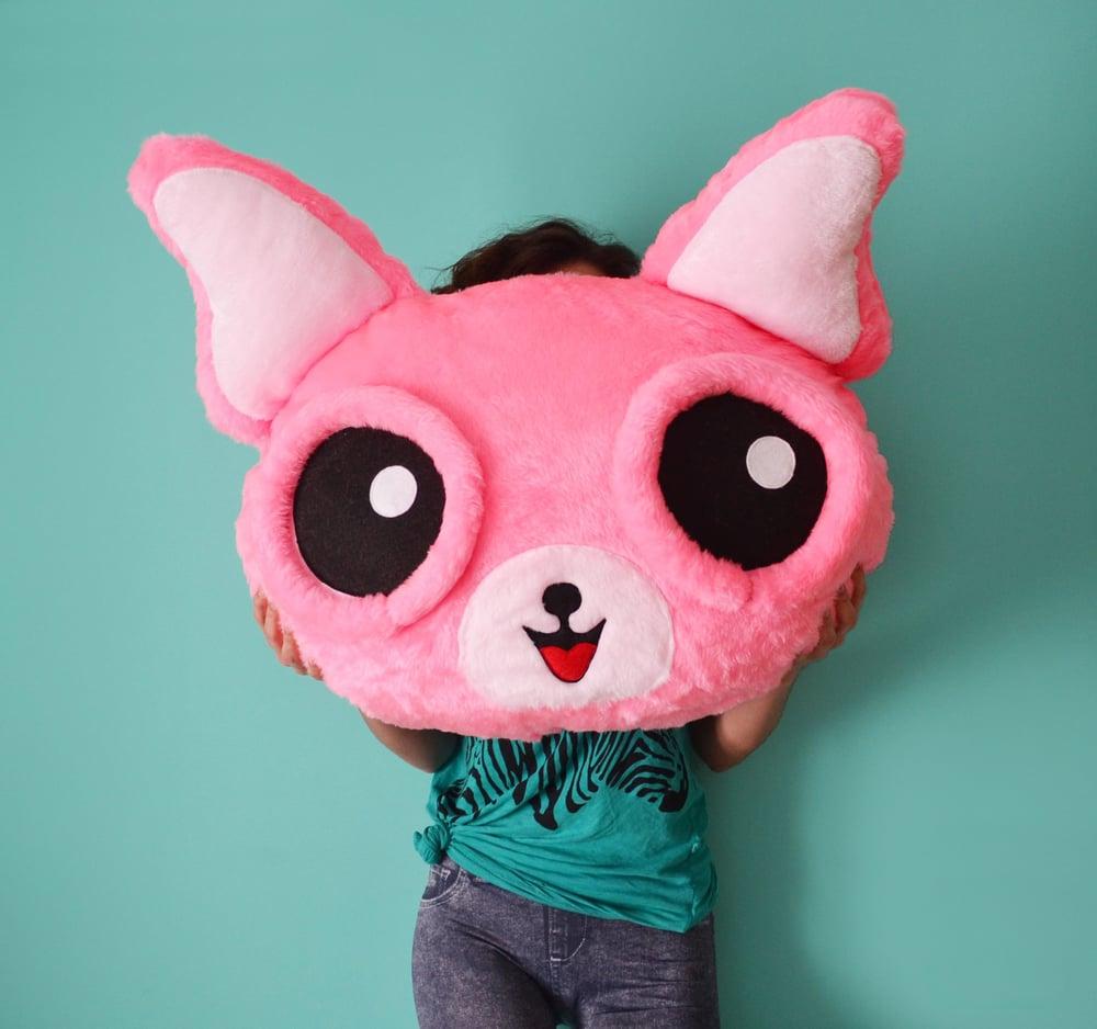 Image of Pink Chihuahua Cushion