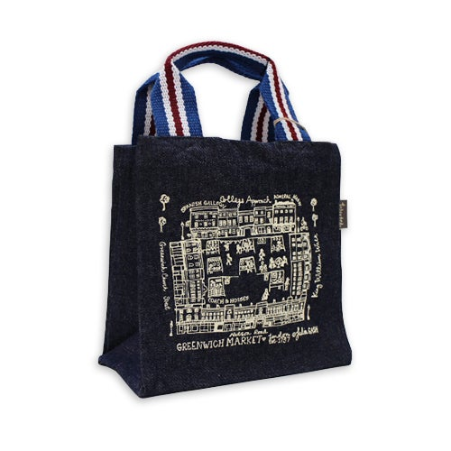 Image of Greenwich Market Small Tote Bag - Denim