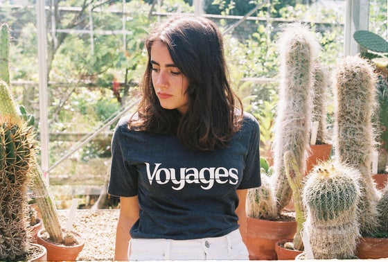 Image of Voyages Acid Wash Tee *SOLD OUT*