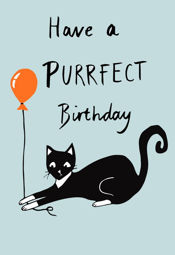 Image of The Purrfect Birthday Card
