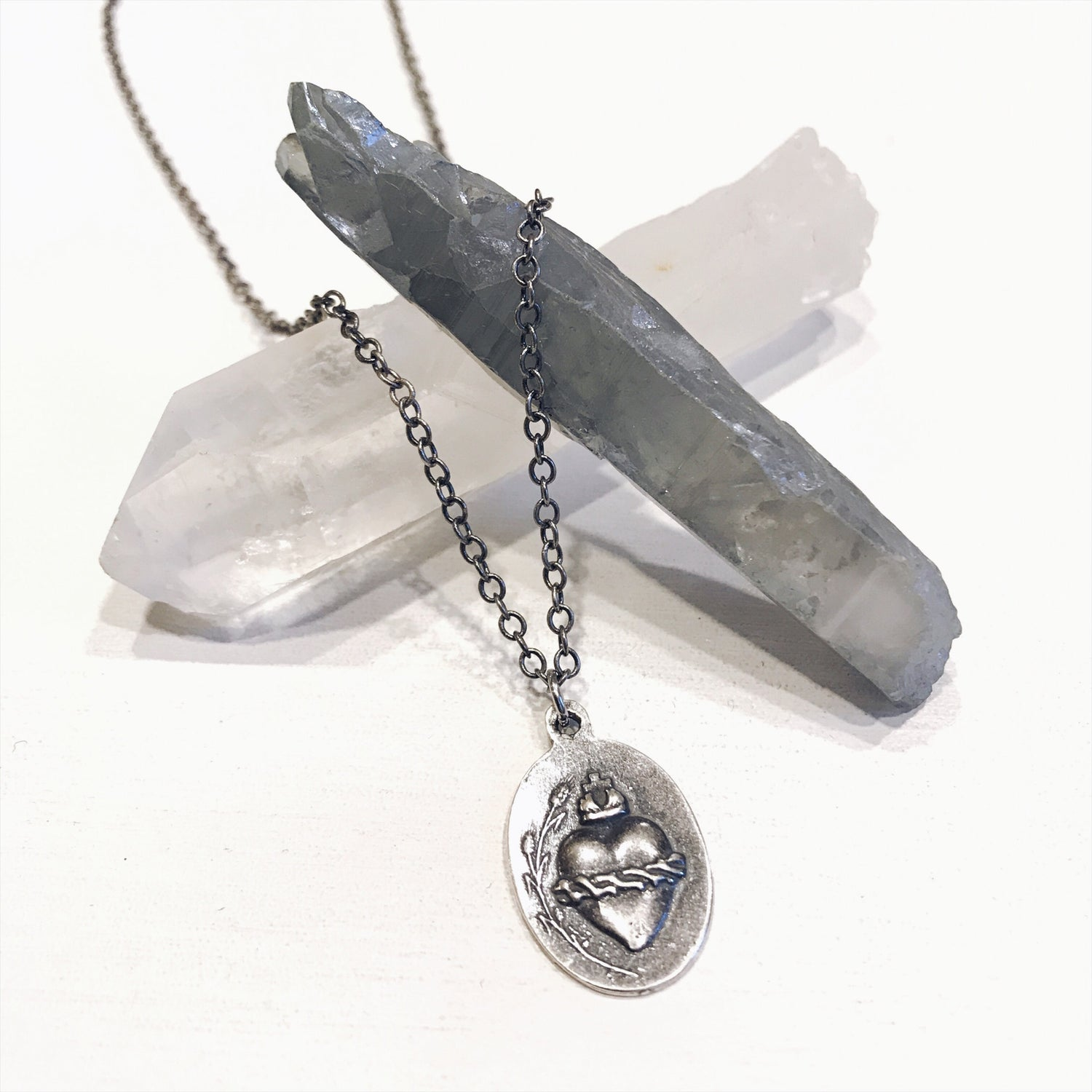 Image of Scared Heart Pendant