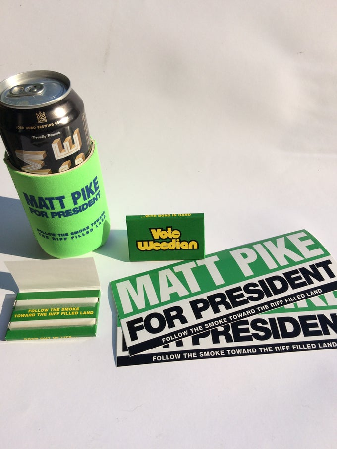 Image of VOTE WEEDIAN PARTY PACK #1