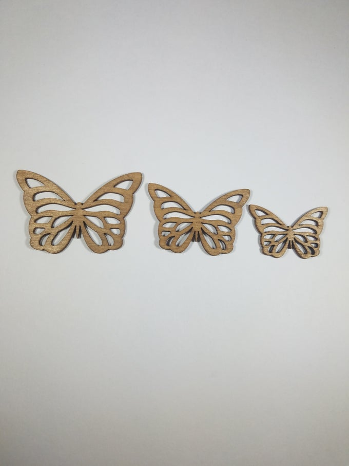 Image of Butterfly Cut-Out Studs