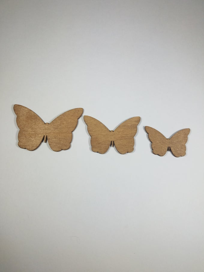 Image of Butterfly Solid Studs