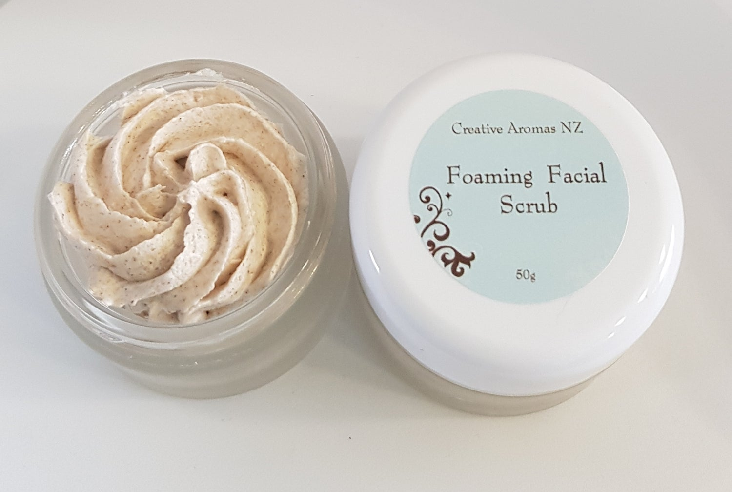 Image of Foaming Facial Scrub