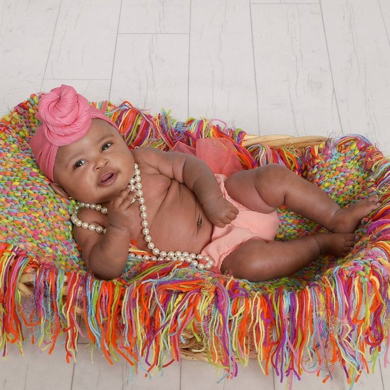 Image of Nova Baby Classic Turban Scarf (Unravelled)