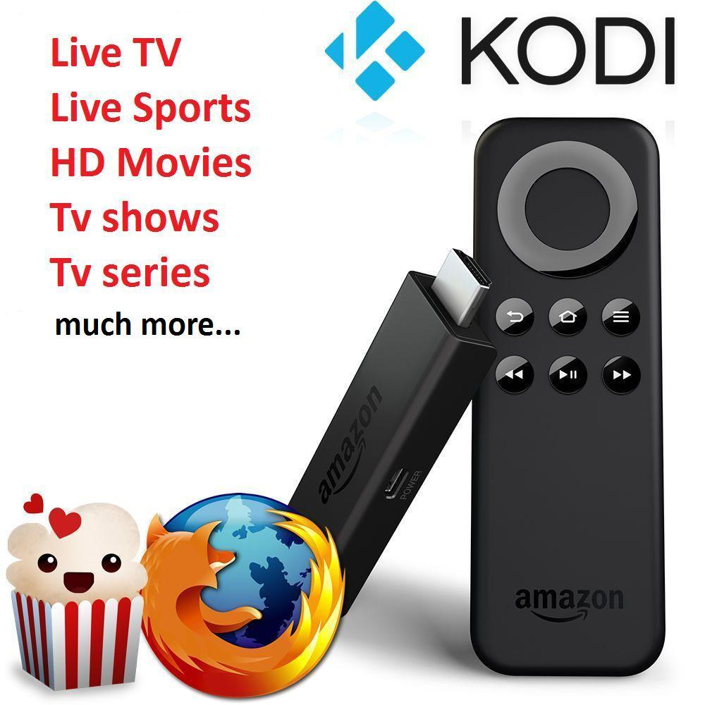 Image of Fully Loaded Amazon Firestick (Kodi 17.6 & Mobdro, Terrarium TV & MORE)