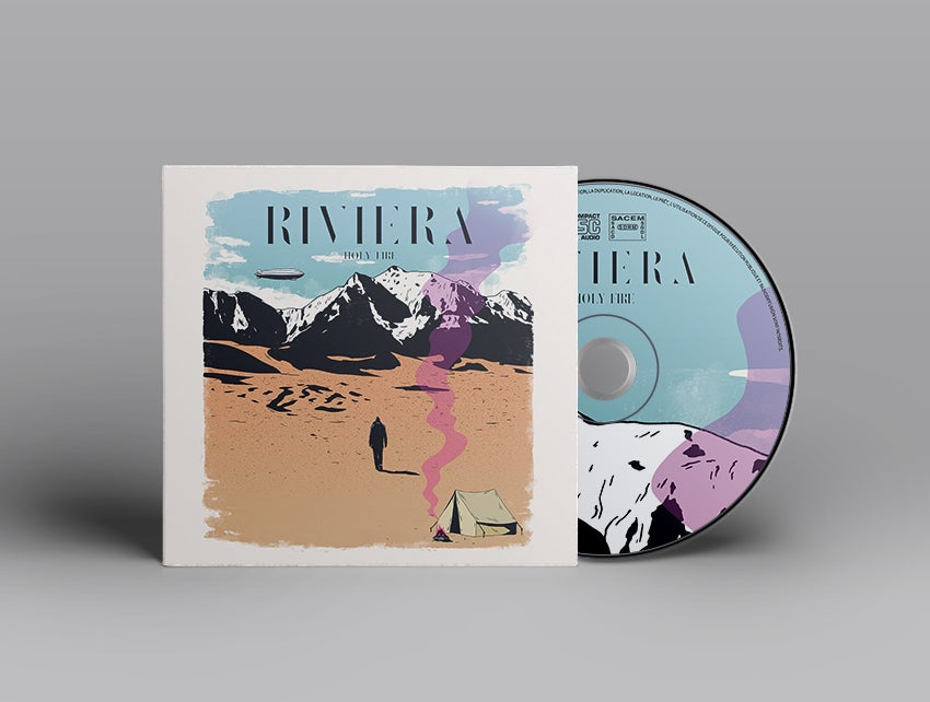 "Image of RIVIERA - EP ""Holy Fire"""