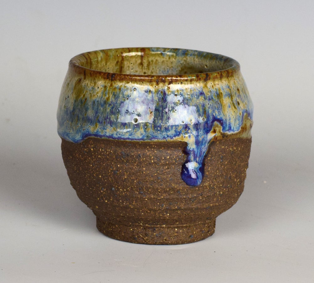 Image of Rustic Rainbow Drip Tumblers #1