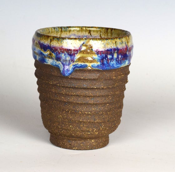 Image of Rustic Rainbow Drip Tumblers #2