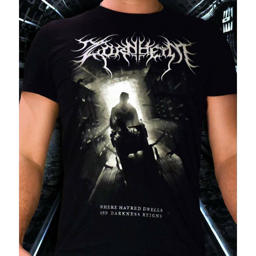 Image of Zornheym - Album art t-shirt Where Hatred Dwells and Darkness Reigns