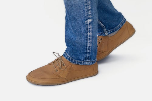 Image of Flux - Apron Toe men's shoes in Caramel