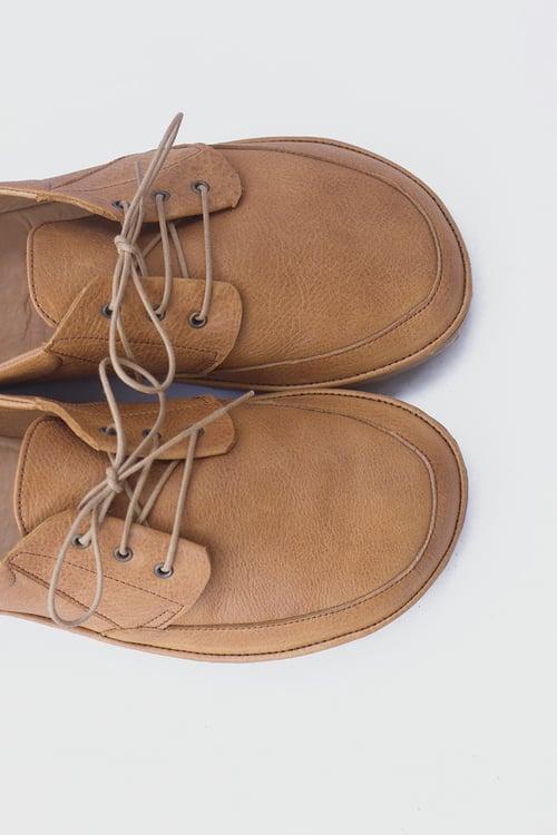 Image of Flux - Apron Toe men's shoes in Caramel