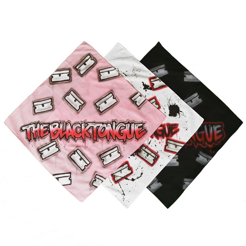 Image of razor tag bandana