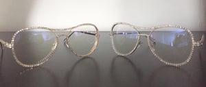 Image of Diamond Frame Sunglasses