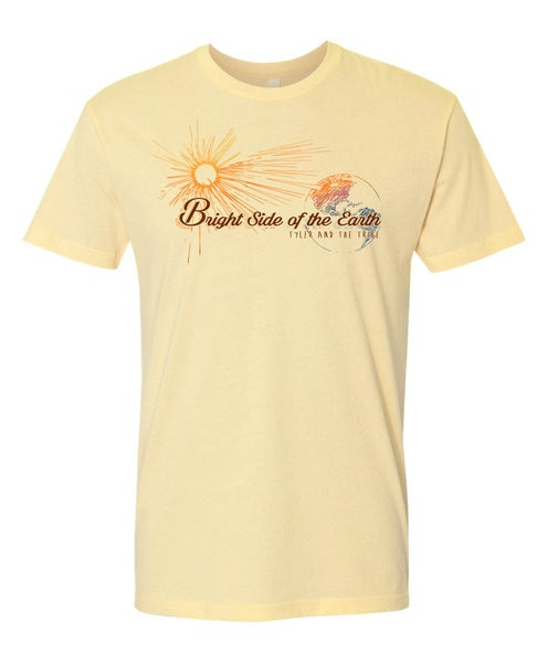 Image of Bright Side of the Earth Album T-Shirt