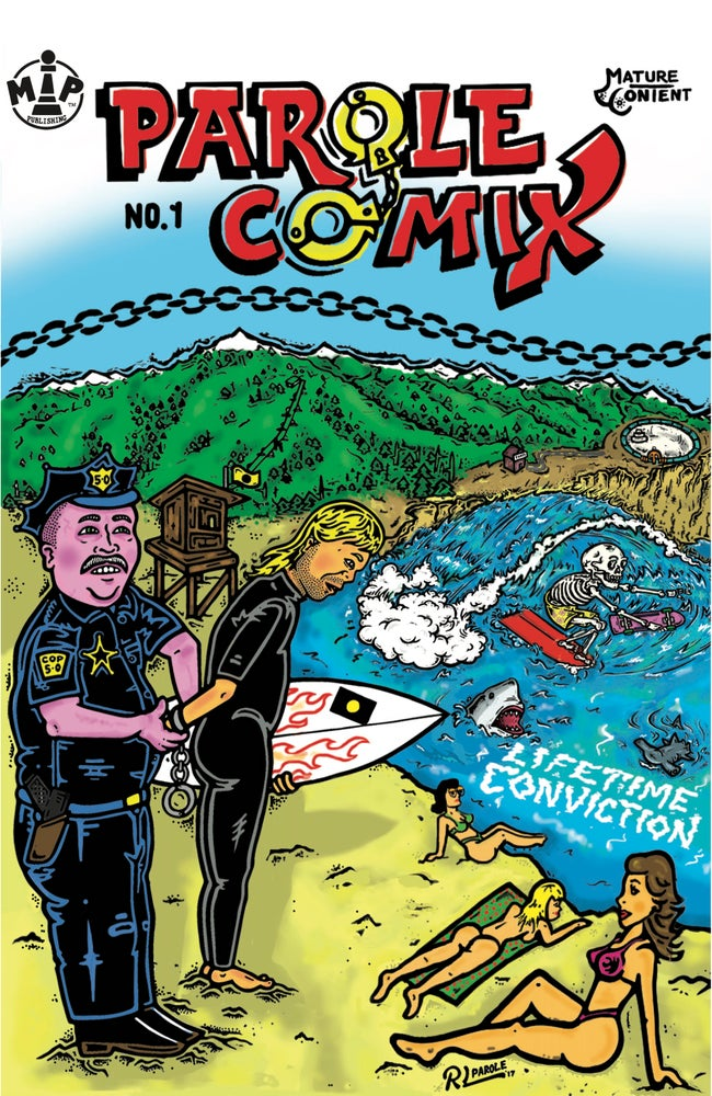 Image of PAROLE comix ISSUE no. 1