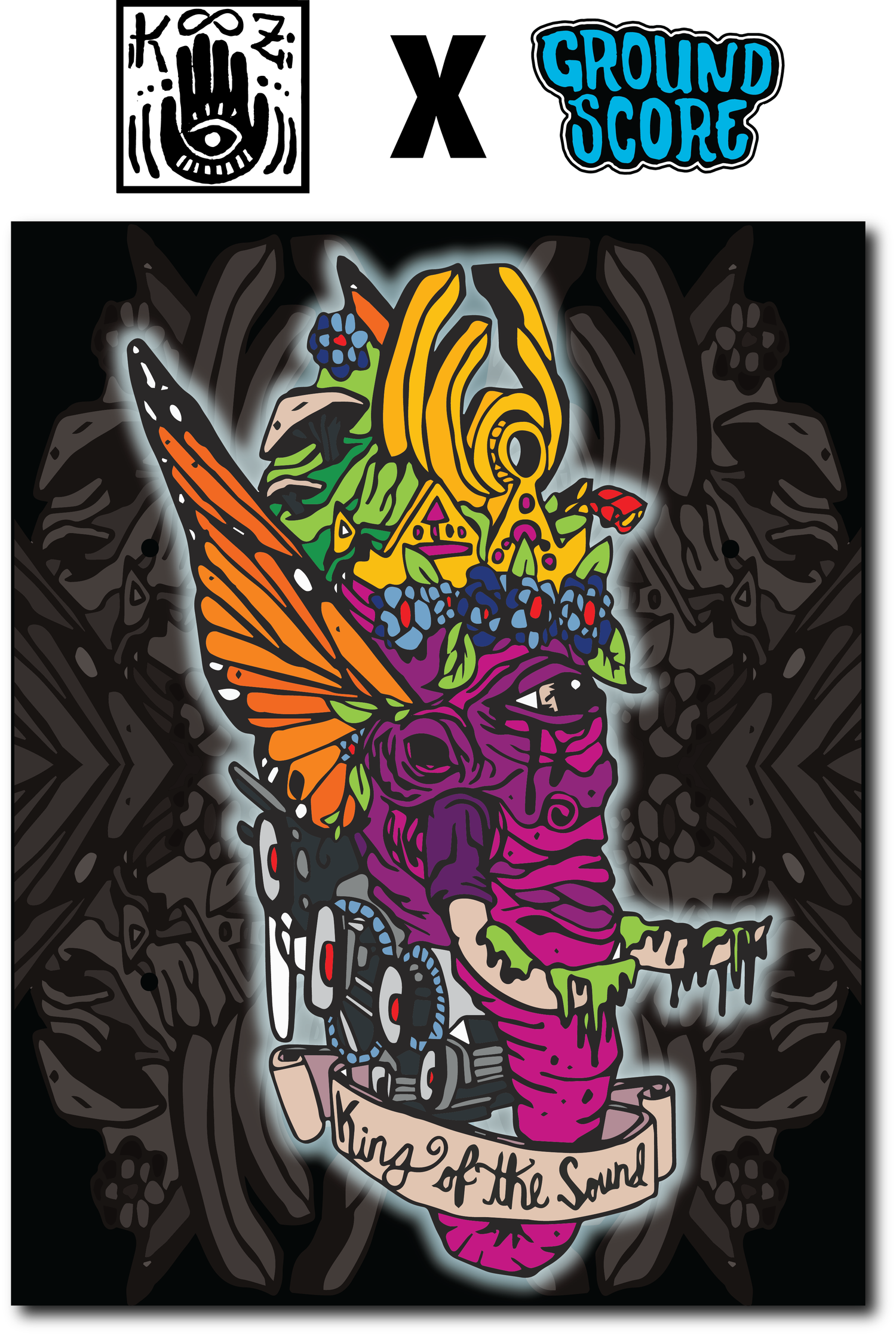 KOOZ - King of the Sound Sublimated Tapestry (LE 15)