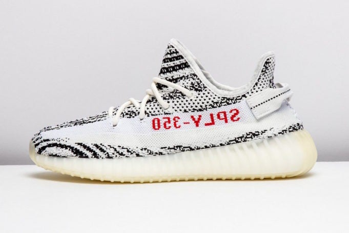 024032f6504 ... Image of Adidas Yeezy Boost 350 V2 Zebra ...