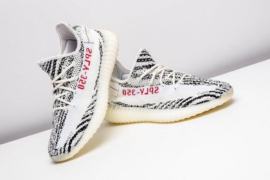 94bc000b8f6ab Adidas Yeezy Boost 350 V2 Zebra   Retro Strike