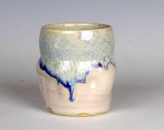 Image of Cobalt Cascade Tumblers #1
