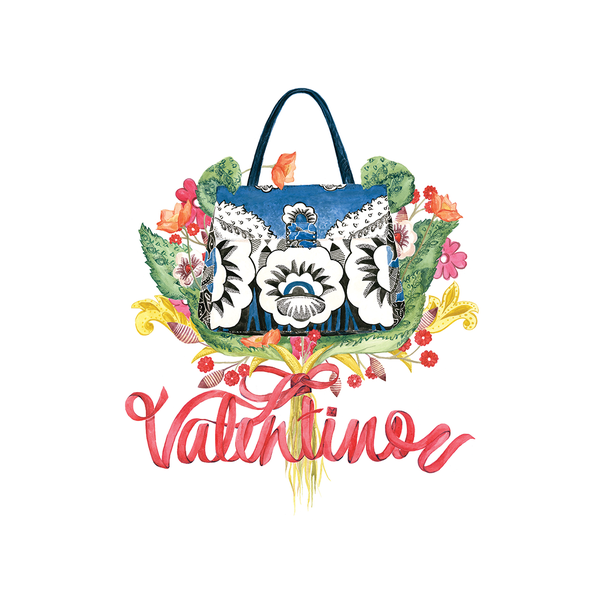 Image of Limited Edition Print - Valentino Bouquet