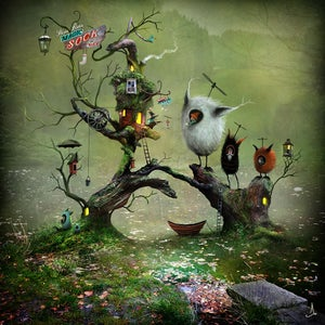 """Stine-Lisas Magic Sock Shop"" - Alexander Jansson Shop"